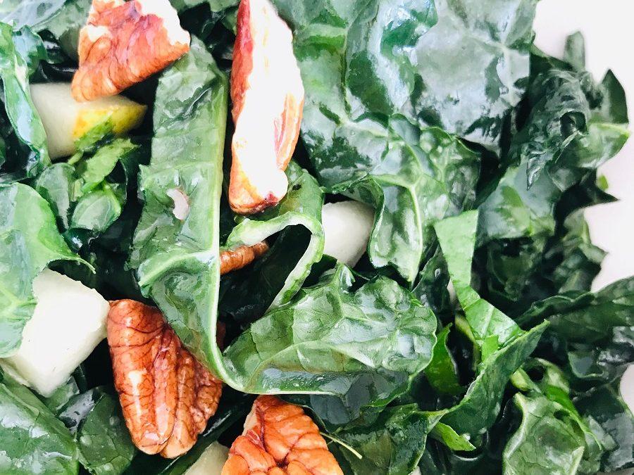 Pear, Pecan & Kale Salad