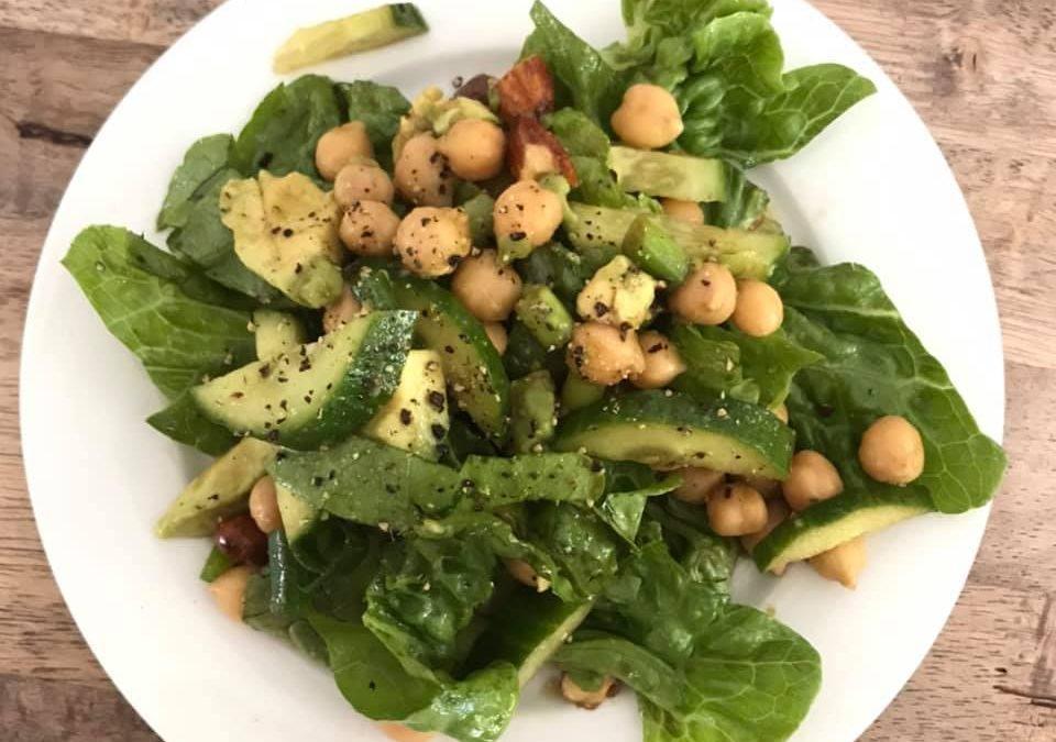 Chickpea & Avo Salad